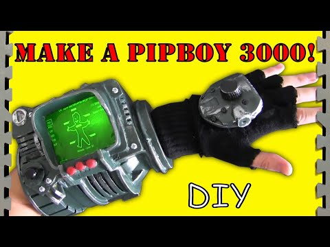 How to Make a Pip-Boy 3000 (Fallout Tutorial)