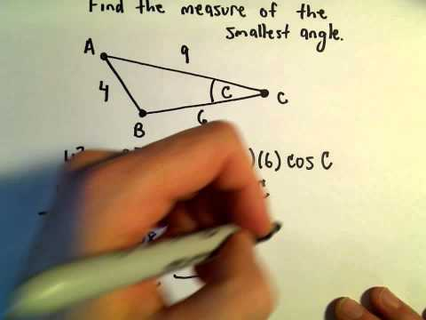 Law of Cosines, Example 3