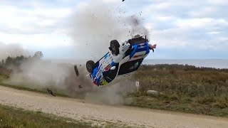 Rally... a CRAZY sport! #02 [jumps, crashes, saves, oops moments & more...]