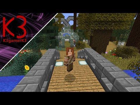 Greenhouse / Arboretum! Minecraft Castle Build Series ep11