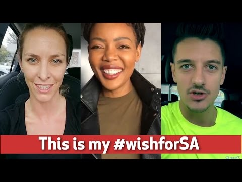 'This is my wish for South Africa'