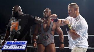 Mark Henry & Big E Langston help John Cena fend off the Shield: SmackDown, Dec. 27, 2013