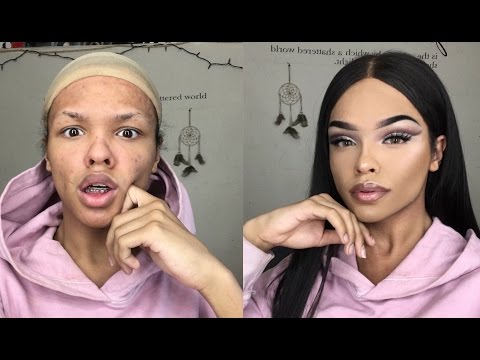 HOW TO CATFISH ON INSTAGRAM (MAKEUP TUTORIAL)