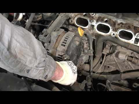 P10/19 How to replace Engine Step by Step Toyota Corolla Years 2007 to 2018 Part 10 of 19
