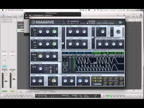 Making A Melodic Arpeggiated Synth In NI MASSIVE by Jorgalad