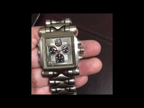 How to remove scratches from titanium watch