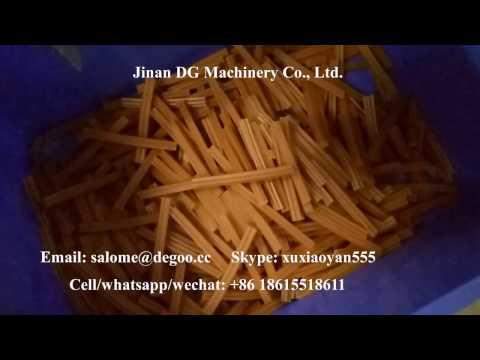 Vegetarian Dog Dental Chew Twist Stick Training Treats making machine production line