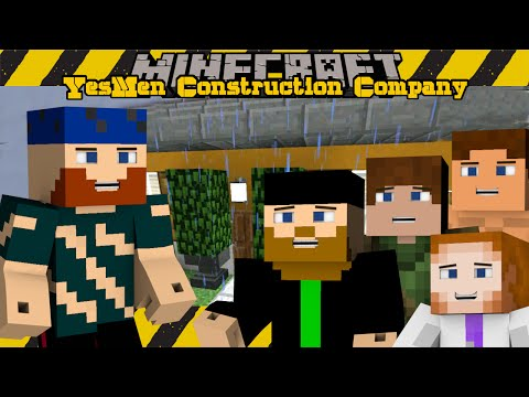Minecraft | YesMen Construction Company | #9 CABOOSE'S BUNKER
