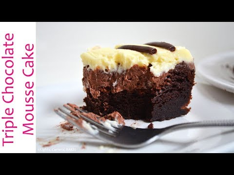 How To Make a Triple Chocolate Mousse Cake