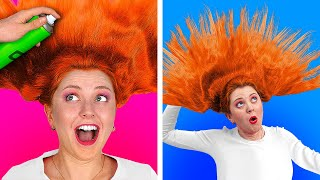 ULTIMATE 100 LAYERS CHALLENGE || 100 Layers Of Hairspray || 100 Coats of Things by 123 GO! CHALLENGE