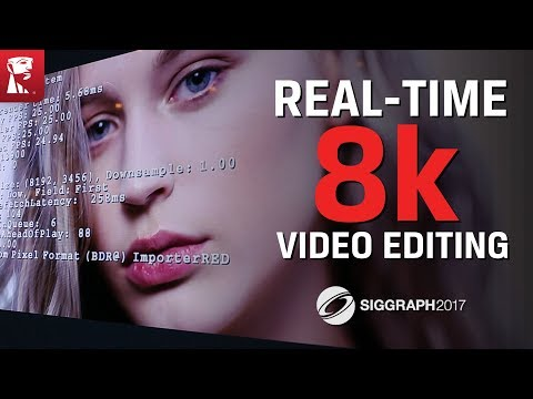 Siggraph 2017 - NVIDIA Uses Kingston DCP1000 SSD to Show Fastest 8K Video Editing
