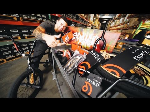 HAND PICKING PARTS FOR A NEW BMX BIKE!