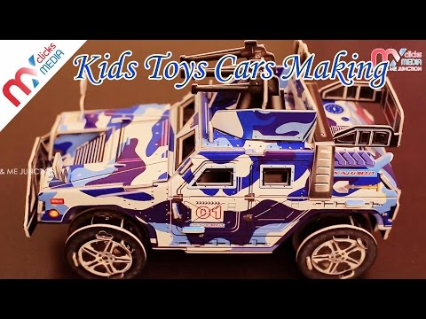 Kids Toys Cars Making || Warrior Assault Vehicle || 3D Puzzle || My Kids Rhymes