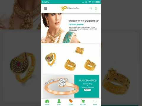 Jewellery App Design In Tutorialsee