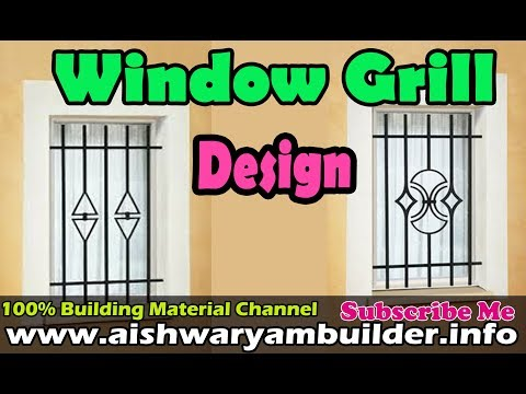 Window Grill Designs | House Grill | safety Grill Design | Aishwaryambuilders