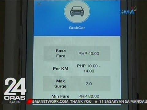 Grabcar at Grabpremium, automatic na naningil ng P80 at P125 minimum fare nang 'di alam ng LTFRB