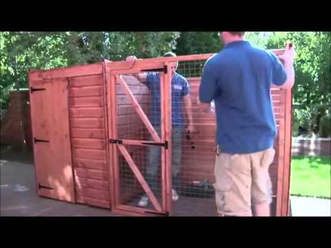 How to build a kennel & run by Taylors Garden Buildings