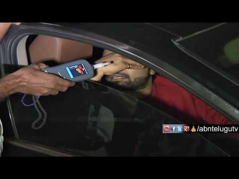 Uncut Video | Anchor Pradeep Caught In Drunken Drive, Exclusive Visuals | ABN Telugu