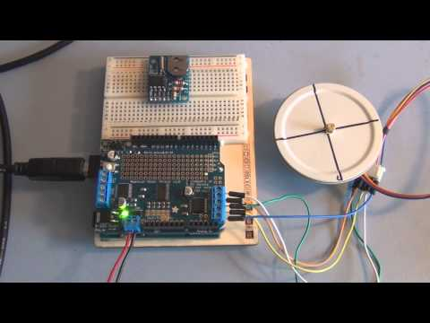 Adafruit Motor Shield and Arduino Uno Stepper Motor Tutorial
