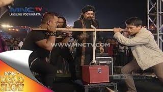 kekuatan Master Limbad Mengangkat Tas yang Berat - MNCTV Road Show Jogja (29/11)