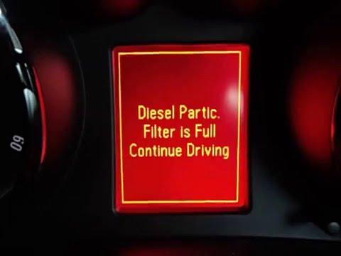Vauxhall Insignia / Buick Regal Diesel DPF Regen Warning