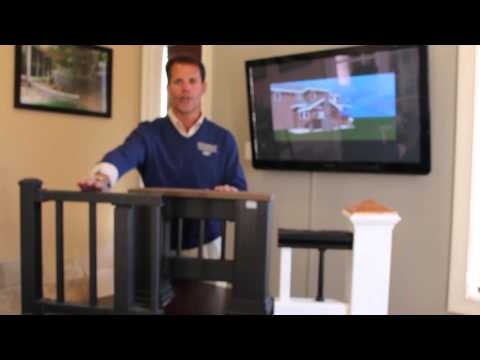 Low maintenance railing options for your Charlotte deck and porch