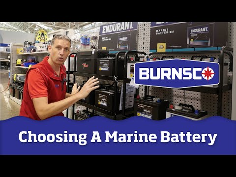 How to Choose the Correct Marine Battery