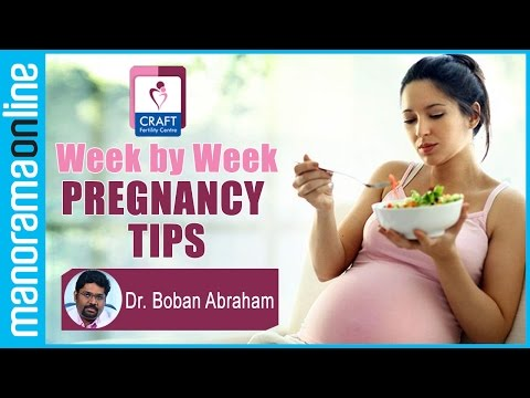 Week by Week Pregnancy Tips | Dr. Boban Abraham | CRAFT Hospital & Research Centre