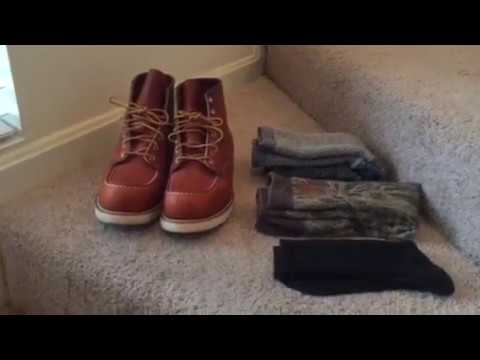 2017 Red Wing Shoes 875 Moc Toe Boot Sizing Review