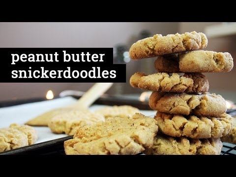 PEANUT BUTTER SNICKERDOODLES | Vegan Recipe by Mary's Test Kitchen