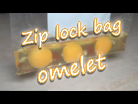 How to Make Omelet in Zip lock bag