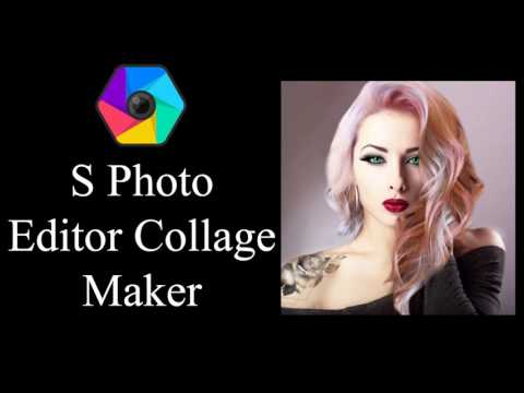 S Photo Editor Collage Maker - Android App.