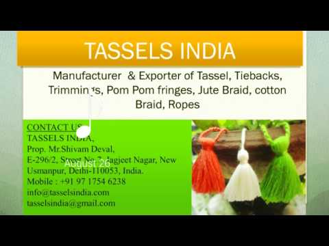 Tassels and Trimmings manufacturer