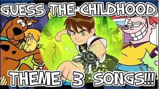 Guess The Childhood Themes Songs!!! - Part 3