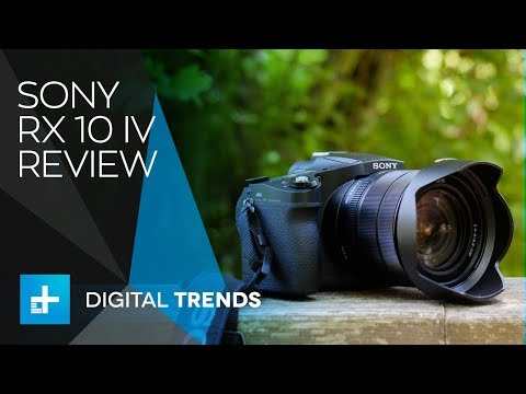 Sony RX 10 IV - Hands On Review