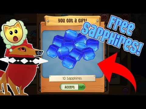 How to get FREE Animal Jam Play Wild Sapphires! (Working 2018!)