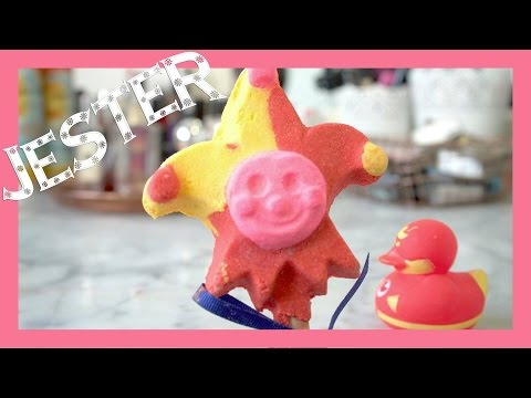 Jester Reusable Bubble Bar Demo - Lush Christmas 2016!