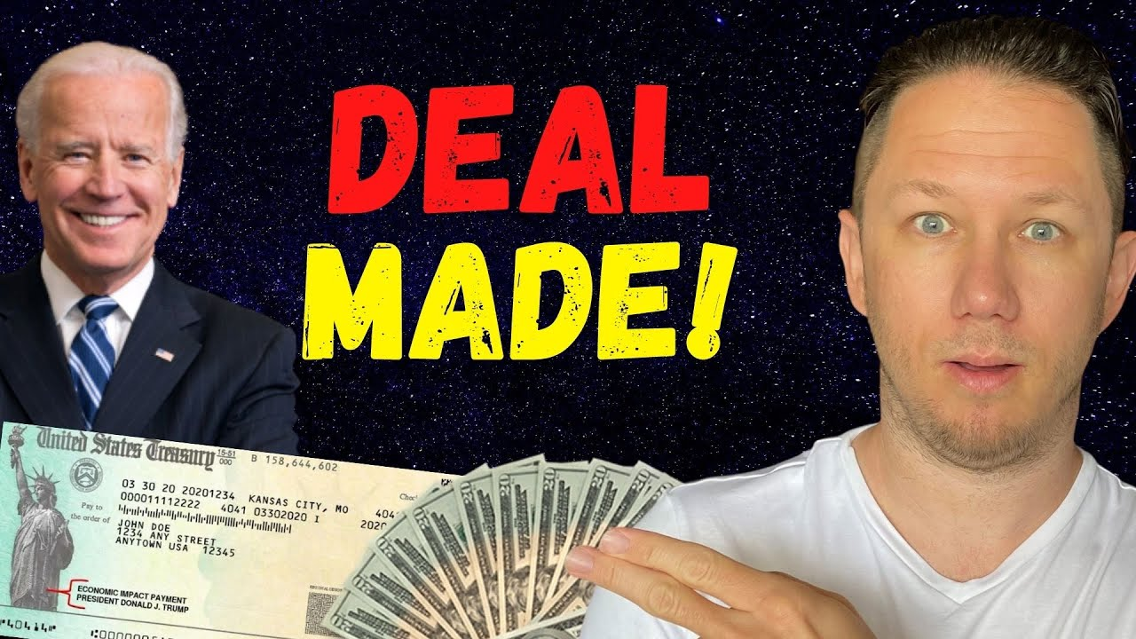 WHITE HOUSE SAYS A DEAL HAS BEEN MADE!! Fourth Stimulus Check Update Today 2021 & Daily News