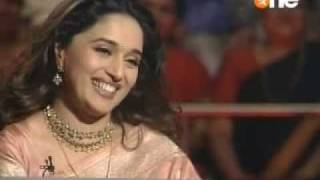 madhuri in KBC 3