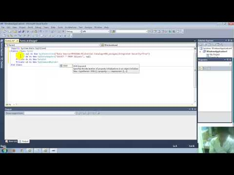 How to Connect SQL Server 2008 to Vb Net