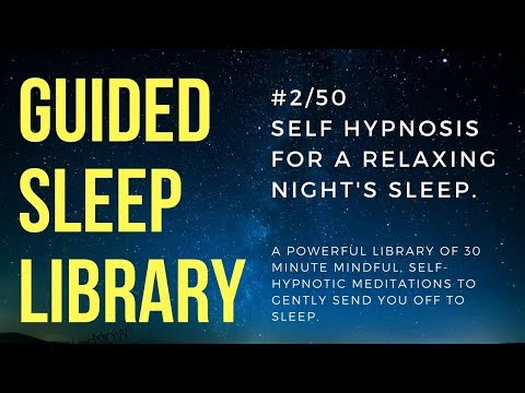 #2/50. Best deep sleep hypnosis - EnTrance Total Sleep Library - 30 min.