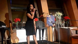 Anaitha Nair singing Skyfall by Adele I Desi Open Mic Night
