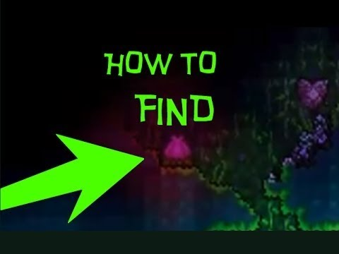 Let's Play Terraria: How to find Plantera's Bulb on the Map