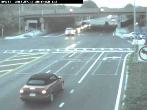 Suffolk County Red Light Camera... How NOT to make a right on red..