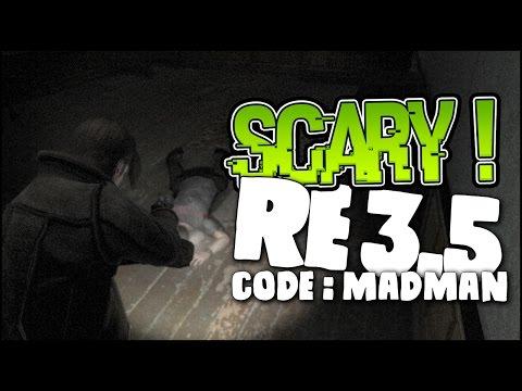 NEVER BEEN SO SCARED ! - Resident Evil 3.5 Code Madman Full Gameplay