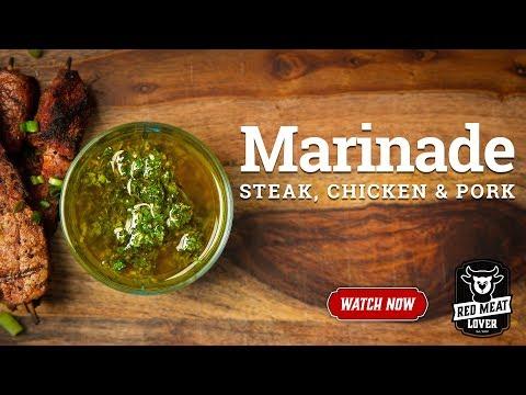 Steak Marinade and Dipping Sauce - Chimichurri Steak Sauce!