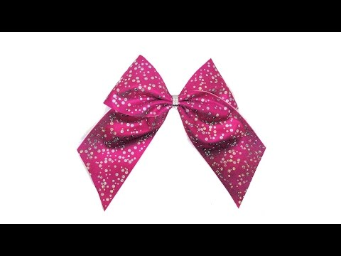 Cheer Bow DIY Scatter Spangle Bling