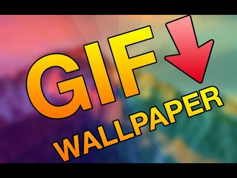 How to set a GIF as your WALLPAPER (Mac)
