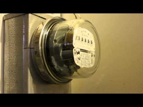 Electric meter changeout
