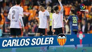 Golazo de Carlos Soler (3-2) en el Valencia CF vs RC Celta